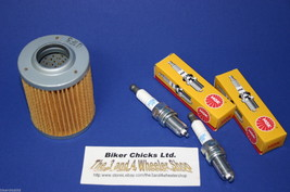 CAN AM 05-07 DS 650X Tune Up Kit NGK Spark Plug & Oil Filter - $17.45
