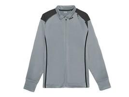 Fila Men's Spirited Track Jacket - Quarry/Black - Size L - New - $23.76