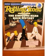 Rolling Stone #910 November 28 2002 The Simpsons Make Rock History - $11.69