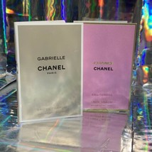2 Pcs Chanel Sample New With Original Card 1x Gabrielle EDP 1x Chance EDP 1.5ml