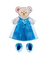 """Disney Parks Frozen Elsa Costume Set for 17"""" Shelliemay Bear New with Box - $17.45"""