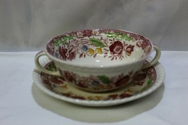 Johnson Brothers Winchester Cream Soup & Saucer  - $19.31