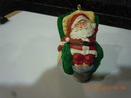 "1987 Hallmark Sleepy Santa 2.5"" Christmas Ornament - $2.70"