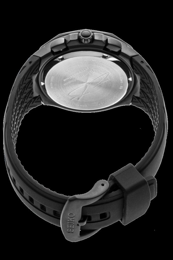 Seiko Men's Solar Coutura Jimmie Johnson Special Edition Chrono Watch SSC697