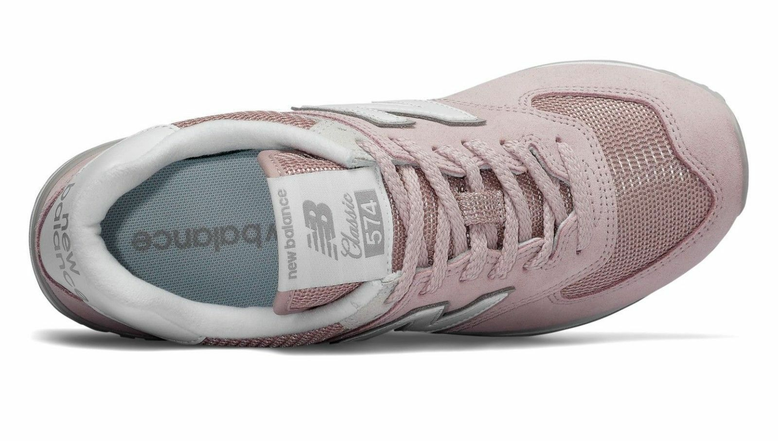 New Balance WL574ESP 574 Faded Rose Pink Lifestyle Women Sneakers image 4