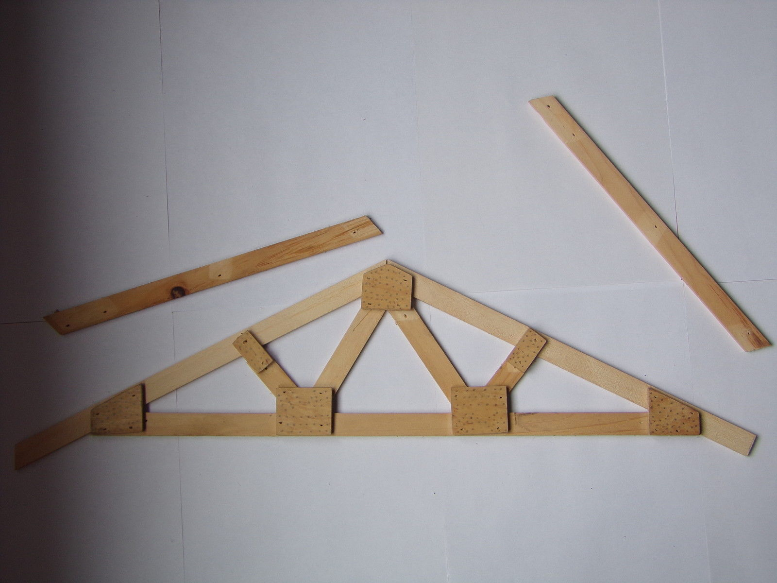 Roof Truss Plans How To Build Make Your Own and similar items