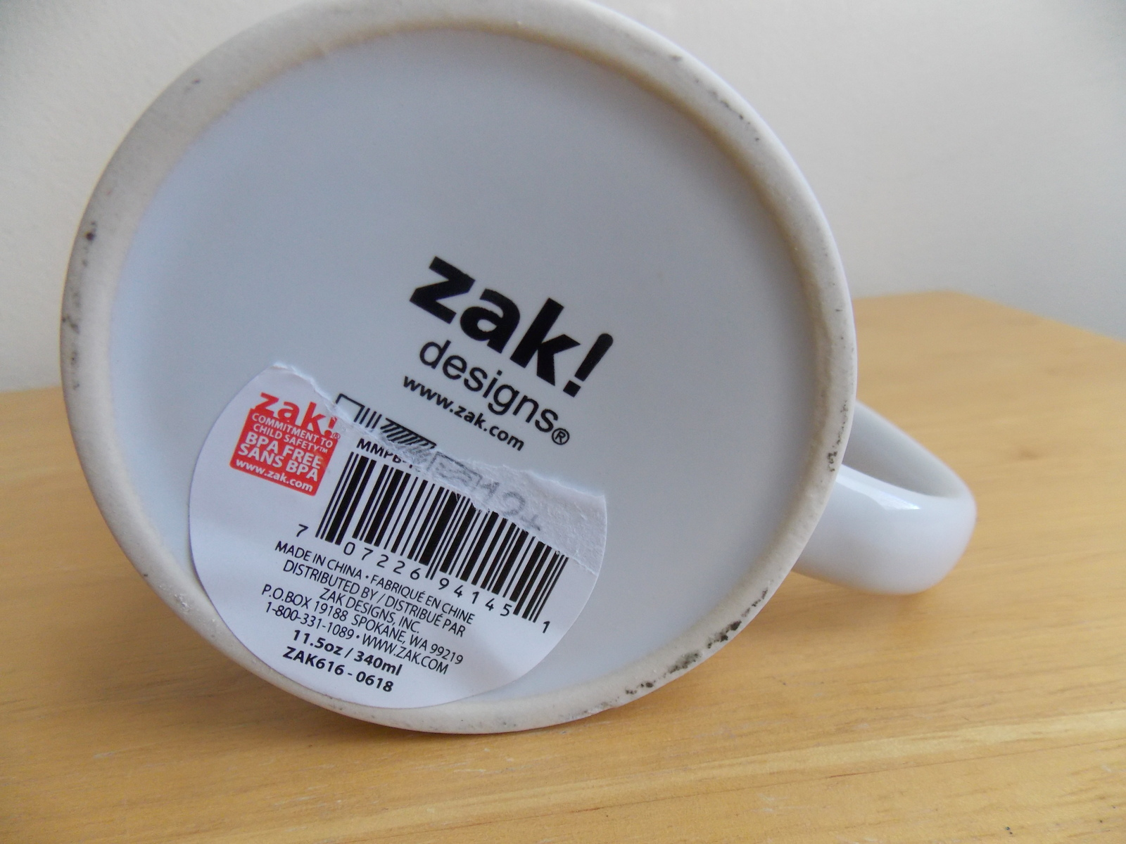 Disney Zak Mickey Mouse Coffee Mug