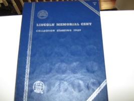 Lincoln Memorial Cent Set , 1959-1981 ,  Whitman Coin Folder , 52 Uncirc... - $45.00