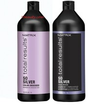 Matrix Total Results So Silver Shampoo & Conditioner 33.8 OZ Duo - $39.59