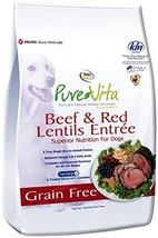 Nutri Source Pure Vita Grain Free Beef & Red Lentils, 5-Pound Package May Vary