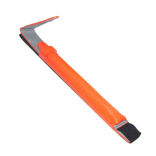Leather Sleeve Case Holder Pouch Protective Shell for Apple Pencil Pen Orange