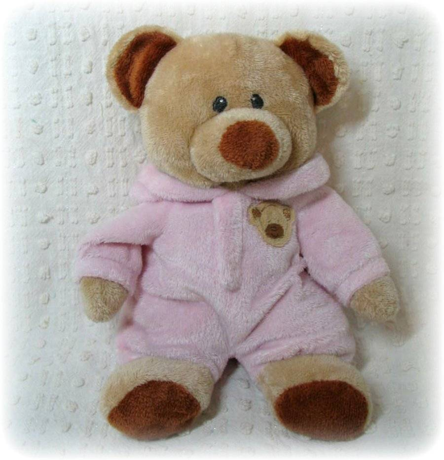 98ca857aba2 Ty Pluffies PJ Bear Pink Plush Pajamas Teddy and 29 similar items