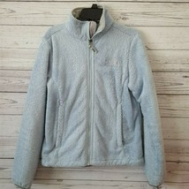 North Face Light Blue Fleece Jacket Womens XS - $39.59