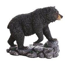 Black Bear Collectible Figurine Statue Home Decor Gift - £22.78 GBP