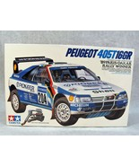 TAMIYA PEUGEOT 405T6GR '89 PARIS-DAKAR RALLY WINNER RACE CAR MODEL KIT NEW! - $98.99