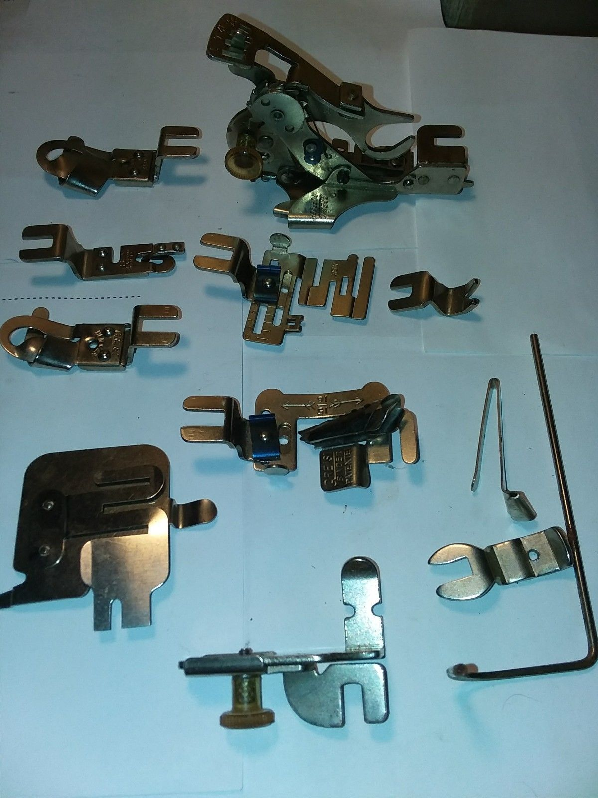 Greist sewing machine attachments,spare parts - $24.00 CAD