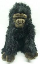 "TY Classic FURRY BLACK GEORGE THE GORILLA 11"" Plush Stuffed Animal Toy 2005 - $19.80"