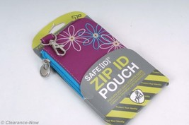 """Travelon """"Safe ID"""" ID Window Pouch / ID Wallet RFID Protection Purple NW... - €11,25 EUR"""