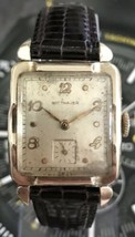 Vintage Wittnauer 1950's 76 Revue 17 jewels 10K gold filled Mens Watch SERVICED! - $332.50