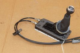 08-10 BMW Mini Cooper 6-Speed Manual Shift Shifter Assy W/ Cables Knob & Boot image 3