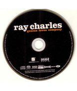 Genius Loves Company ECD - Super Audio Hybrid CD Ray Charles 2004 Concor... - $16.99