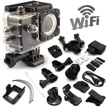 Etek Sport Wi-Fi 12MP HD 1080P Impermeabile Action Camera - $148.48