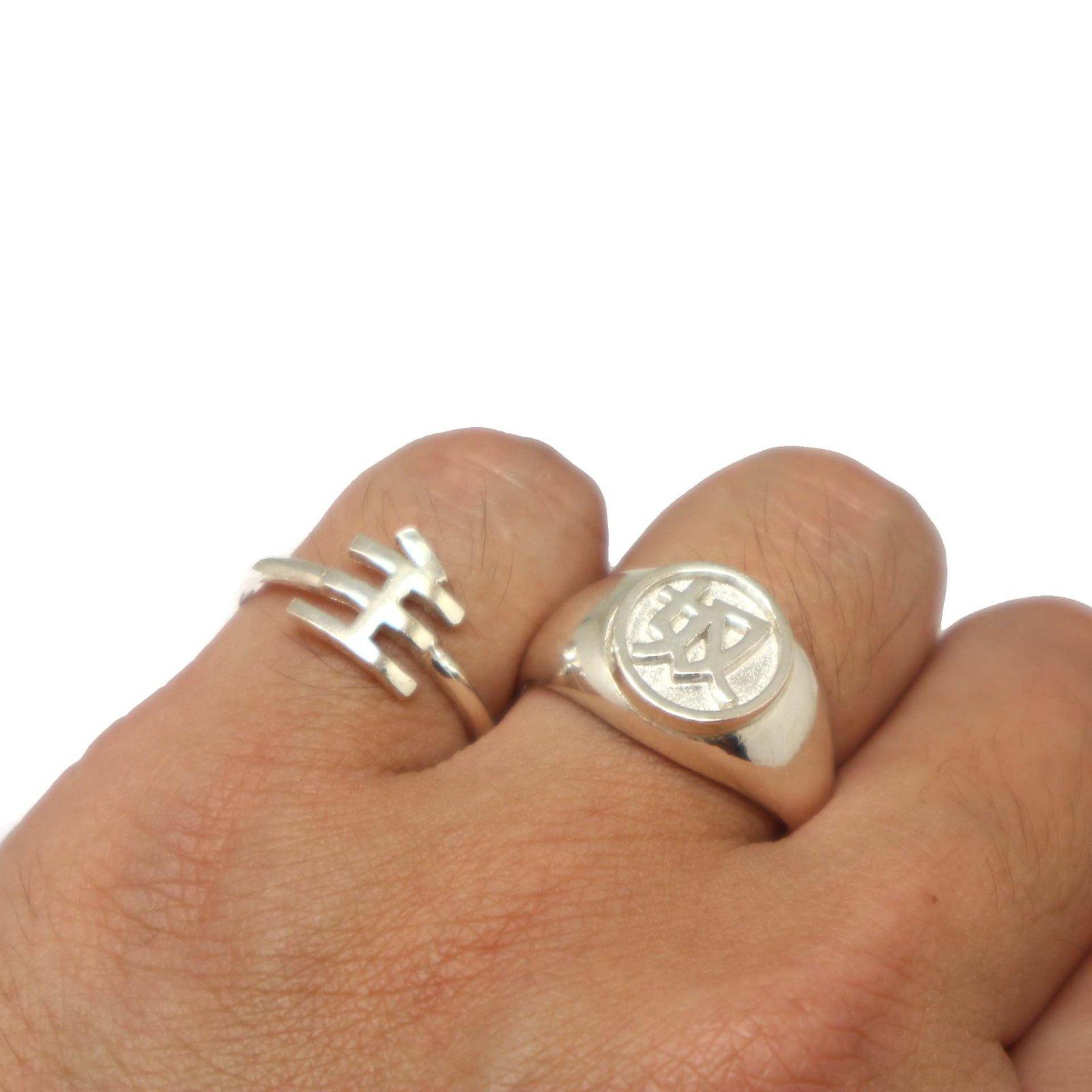 Master and Slave Japanese Bdsm Ring Set