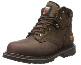 "Timberland PRO Men's 6"" Pit Boss Steel-Toe 11 D Medium Brown NEW!! - $28.98"