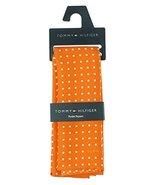 Tommy Hilfiger Men's Color Dot Silk Pocket Square in Orange - $24.75