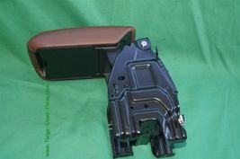 08-14 Audi A5 Sliding Leather Armrest Center Console Lid Cover image 10