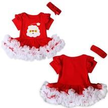 2pcs Newborn Kids Baby Girl Outfits Tutu Dress Romper Headband XMAS Clot... - $30.50