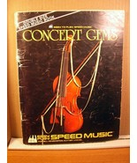 Two Books Easy To Play Speed Music Popular Hits (1983) + Concert Gems (1... - $8.99