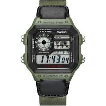 Casio watch Analogue Men's Quartz Sports Watch Fashion Steel Strap Resin... - $70.89
