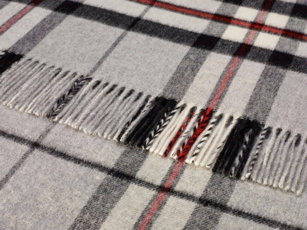 Blanket Scarf - Shawl - Stole - Wrap - Tartan - Gray Thompson