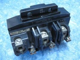 P4320 Pushmatic 3 Phase Breaker 3 Pole 20 Amp Guarantee - $94.95