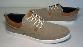 Bullboxer Size 9 Eur 42 BROOKS Sand Lace Up Sneakers Loafers New Men's S... - $98.01
