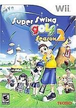 Super Swing Golf: Season 2 (Nintendo Wii, 2007) VERY GOOD - $8.62
