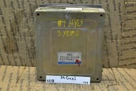 1988-1989 Hyundai Excel Precis Engine Control Unit ECU 3911021410 Module 147-6D8 - $14.89