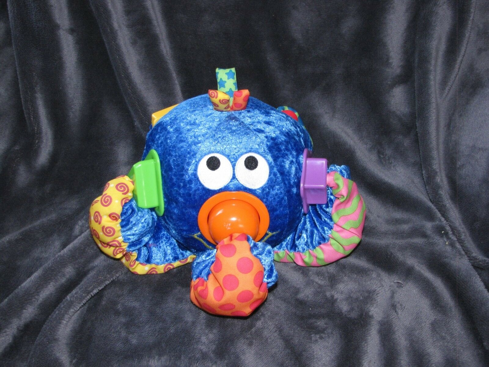 Toy Quest Plush Interactive Talking Developmental Shape Sorter Musical Octopus