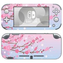 Nintendo Switch Lite Console Vinyl Skin Decals Stickers Sakura Flowers Blossoms - $9.60