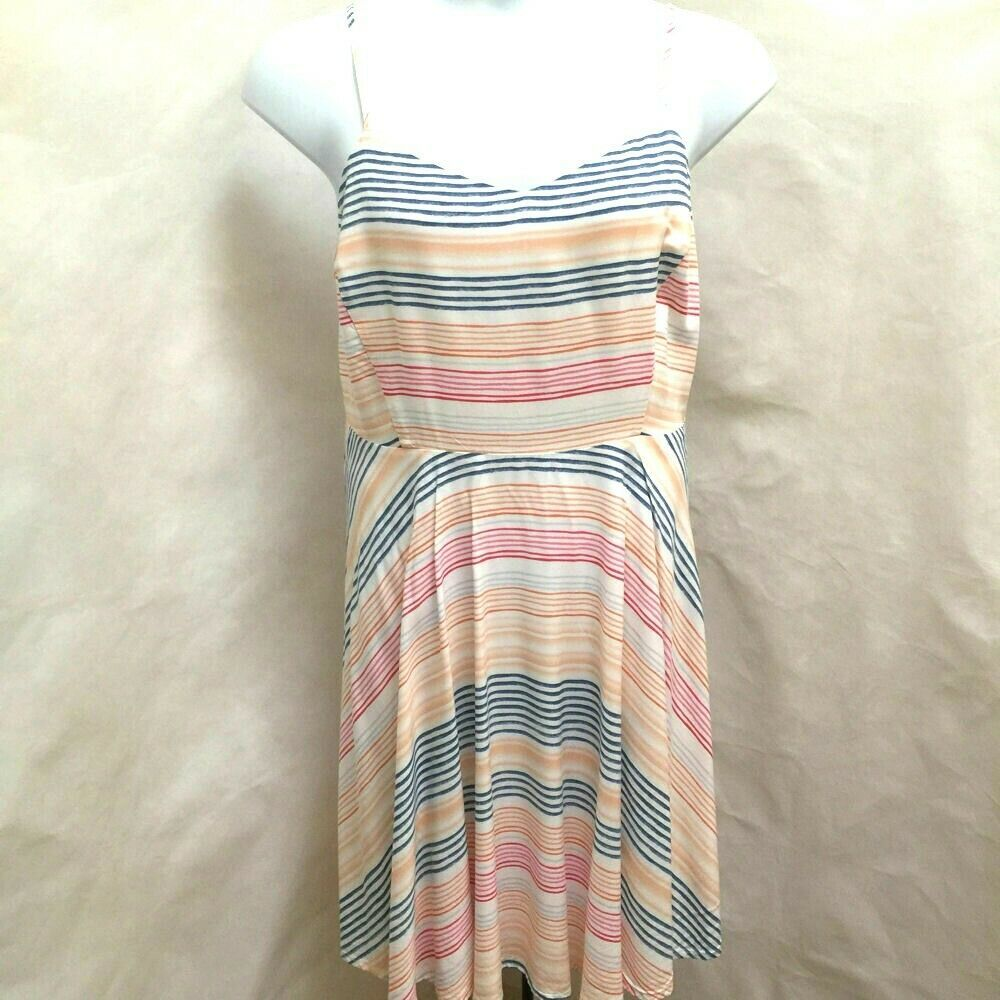 Primary image for Old Navy 2X XXL Sun Dress Striped Spaghetti Strap Plus Size