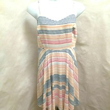 Old Navy 2X XXL Sun Dress Striped Spaghetti Strap Plus Size - $19.59
