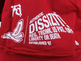 Dissizit FYSP F*ck Your Skate Park Pullover Hoodie in Red or Heather Sweater NWT image 11