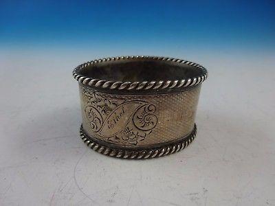 Sterling Silver Napkin Ring  (#3332)