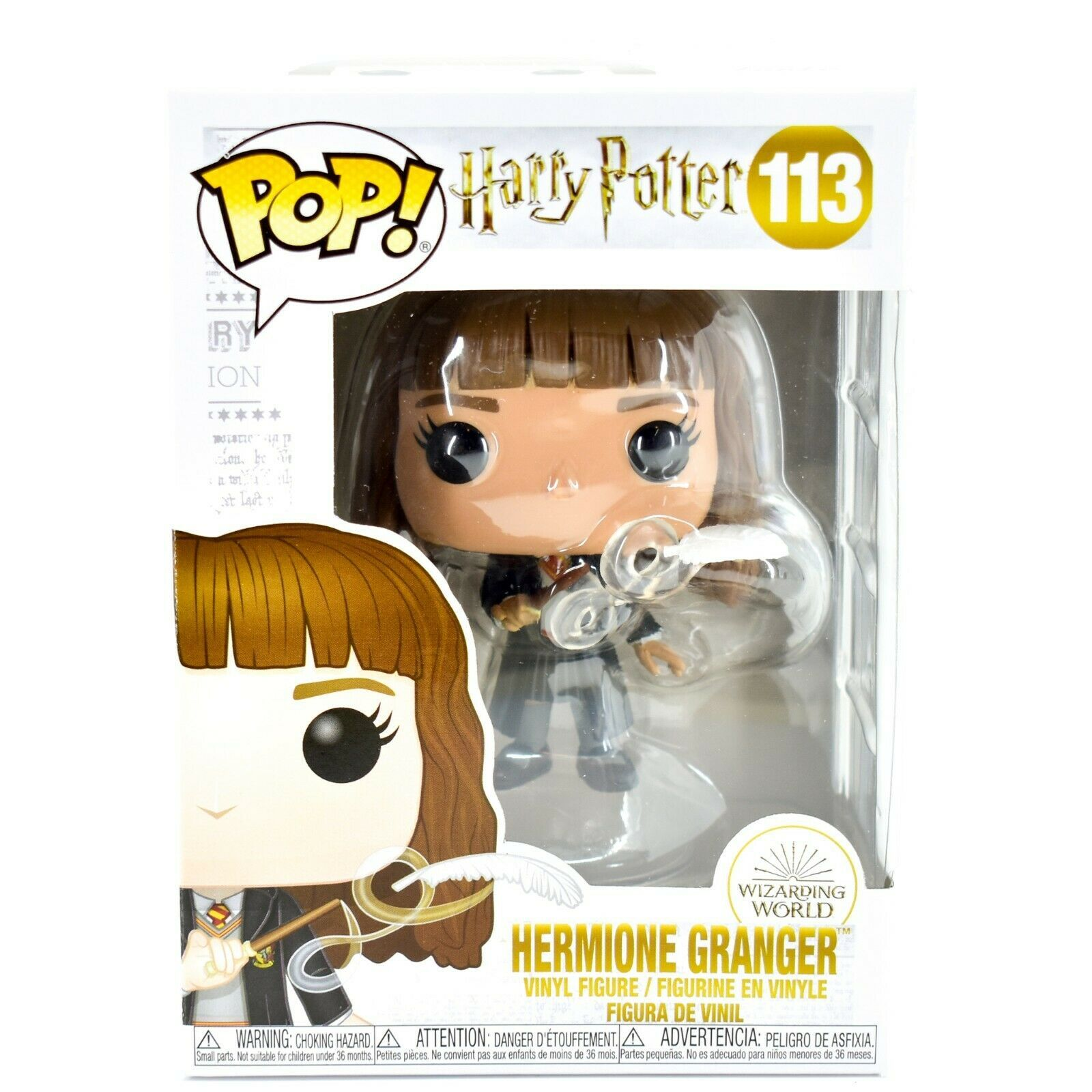 Funko Pop! Harry Potter Hermione Granger Wingardium Leviosa Feather #114 Figure