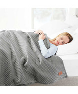 NEW Pendleton Weighted Blanket 48*72, 15 Pounds Grey, Blue FREE SHIPPING... - $64.99
