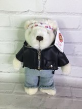 Hard Rock Cafe Los Angeles Herrington Teddy Bear Plush 4th Of July 2004 ... - $79.19