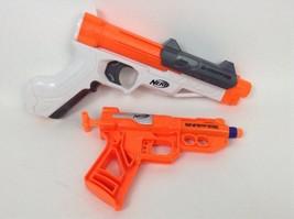 LOT (2) Hasbro Nerf Guns Sharpfire & Snapfire Blasters w/ Darts - $16.88