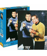 Star Trek Spock and Kirk 500 Piece Jigsaw Puzzle Multi-Color - $27.98