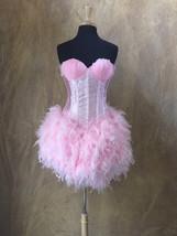 Pick Size-Pink Flamingo Full Skirt Burlesque Cabaret Pin Up Circus Carni... - $189.99